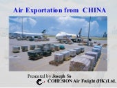 Air Cargo Business in CHINA