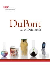 du pont 2004 Data Book