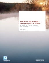 Socially Responsible Investing at ...