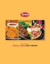 tyson foods Investor Fact Book