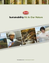 tyson foods  2007 Sustainability Re...