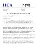 HCA Reports Fourth Quarter and Year End 2008 Results