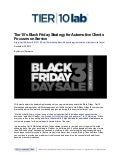 Tier10's Black Friday Strategy for Automotive Clients Focuses on Service
