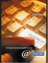 tech data  Annual report 2000