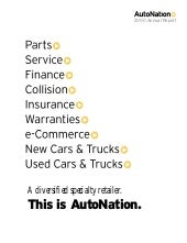 2000annualreport auto nation