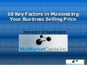 10 Keys To Maximizing Value In Your...