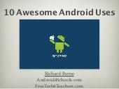 10 awesome android uses and apps