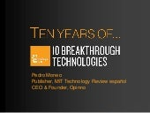 10 Breakthrough Technologies 2013, ...
