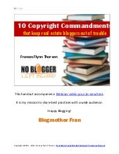 10 Copyright Commandments that Keep...