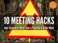 10 Meeting Productivity Hacks