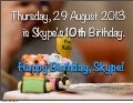 Ten More Years of Skype: Happy 10th Anniversary, Skype