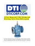 10 New Honeywell V5013 Mixing And Diverting Valves From DtiCorp.com