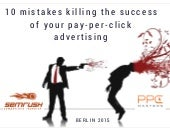 10 PPC Mistakes To Avoid