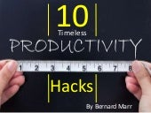 The 10 Timeless Productivity Hacks