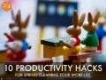 10 productivity hacks for spring