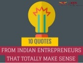10 Quotes from Indian Entrepreneurs that Totally Make Sense