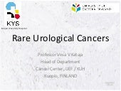 Rare Solid Cancers: An Introduction...