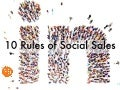 10 Rules of Social Sales