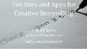 10 sites & apps to inspire creative writing