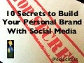 10 Social Media Secrets to Building Your Personal Brand   out of the box seminar