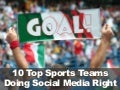 10 Sports Teams Doing Social Media Right