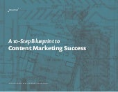 A 10 Step Blueprint To Content Marketing Success