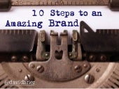 10 Steps to an Amazing Brand