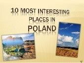 10 the most interesting places in p...