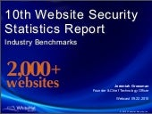 Website Security Statistics Report ...