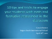 10 tips and tricks to use engagement and formative assessment in the elementary math classroom