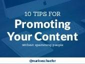 10 Tips to Promote Your Content Without Spamming People