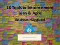 10 tools to become lean and agile