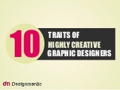 10 Traits of Highly Creative Designers