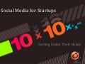 10x10 michael michelini social media for startups