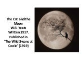 10 yeats the cat and the moon