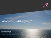 What is Beyond Budgeting?