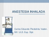 11. Anestesia Inhalada