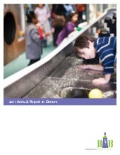 Annual Report to Donors 2011