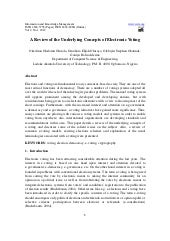 11.a review of the underlying conce...