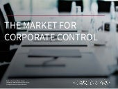 11. The Market for Corporate Control
