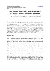 11.evaluation of the nutritive valu...