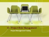 PMP Training - 11 project risk mana...