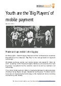 (mobileYouth) Download - Youth are the 'Big Players' of mobile payment