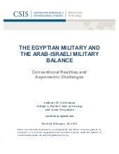 THE EGYPTIAN MILITARY AND the ara...