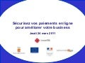2011 03 24 Paiements en ligne by competitic