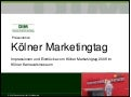 Impressionen des Kölner Marketingtages 2011