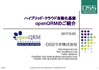 OpenQRM Intoroduction