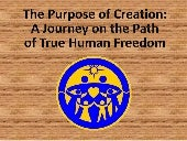 111 the purpose of creation