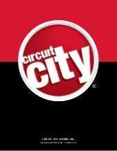circuit city stores 2008 Annual Rep...