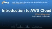 Welcome to the AWS Cloud